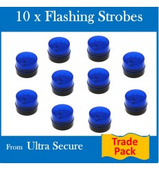 10 x 12v Flashing Strobe Lights (Trade Pack)