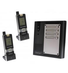 2 x Property 600 metre Wireless UltraCom Intercom System