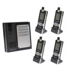 4 x Property 1800 ft Wireless UltraCom4 Intercom