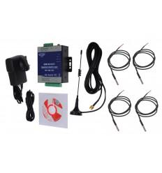 4 x channel 3G GSM Temperature Alarm