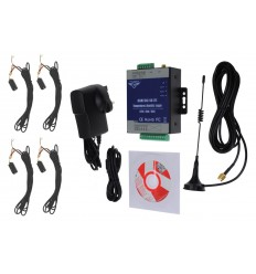 4 x channel 3G GSM Temperature Alarm with 5 metre Probes