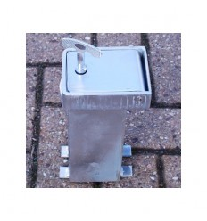 Ground Base & Key for the 100P Removable Security Post & Locking Tool.