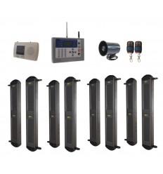 Comprehensive 2B Wireless Perimeter Alarm , H/D GSM Auto-Dialler & Wired Siren