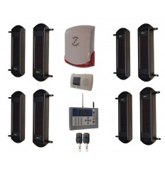 Comprehensive 1B Wireless Perimeter Alarm , H/D GSM Auto-Dialler & Wireless Siren