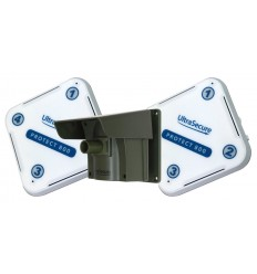Protect 800 Driveway Alert System with 2 x Receivers & attachable Lens Caps