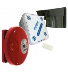 Protect-800 Long Range Wireless Driveway Alert with Outdoor Wired Bell