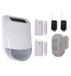 Solar Charged Wireless Smoke Detector