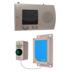 Long Range (900 metre) Wireless 'S' Bell Alert System