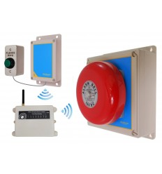 Extra Long Range (6000 ft) Warehouse Wireless 'S' Bell System 2