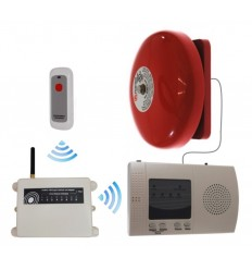 Extra Long Range (1800 metre) Wireless Warehouse 'S' Bell with Internal Push Button