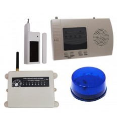 Extra Long Range Wireless S Range Door Alerts with Strobe