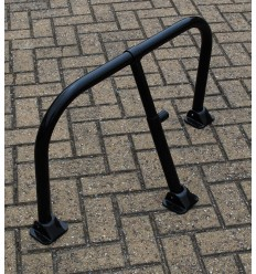 Black Fold Down Hoop Barrier & Integral Lock (001-3750 K/D, 001-3740 K/A)