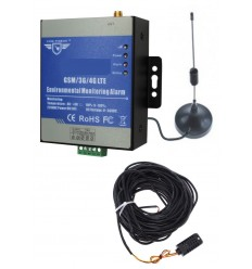 KP GSM Temperature Alarm Monitor with 20 metre Probe Extension
