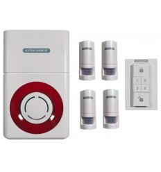 Battery Powered 3G GSM Ultralarm PIR Alarm Kit