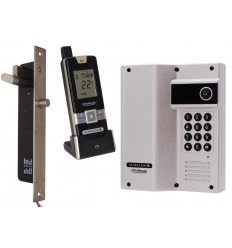 UltraCOM2 Wireless Door Intercom with Keypad & Electronic Door Lock