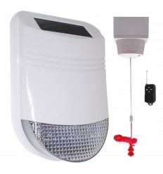Wireless Disabled Toilet Pull Switch HY Solar Alarm