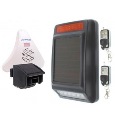 DA600-T Wireless Garden & Driveway Alarm with Solar Siren