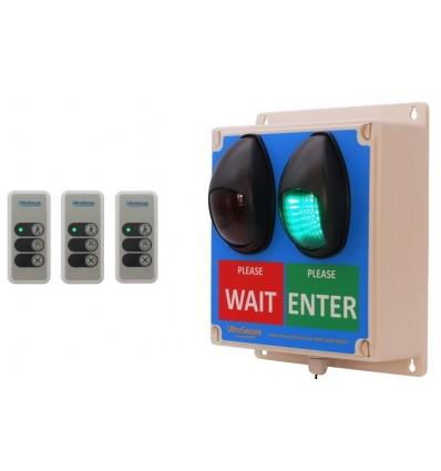 Wireless Entry Traffic Light Kit E