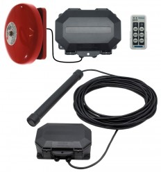 Metal Detecting Driveway Alarm & Outdoor Receiver & Bell