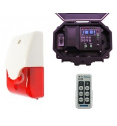 Protect 800 Outdoor Receiver with Siren & Flashing Strobe