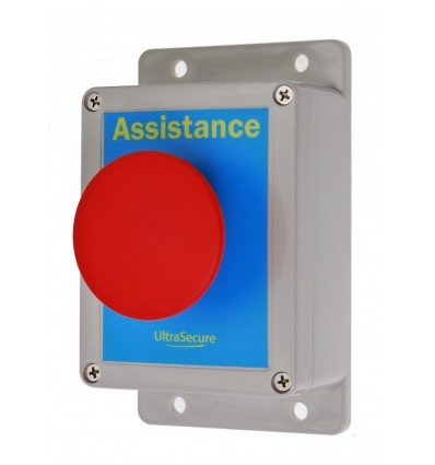 Assistance Wired Panic Button Assembly