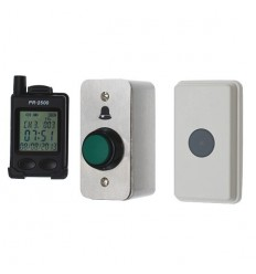 Wireless Bell, Pager & H/D Push Button with Universal Symbol.